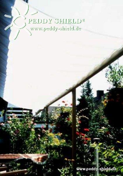Sombra para su terraza con velas de sombra correderas de Peddy ...
