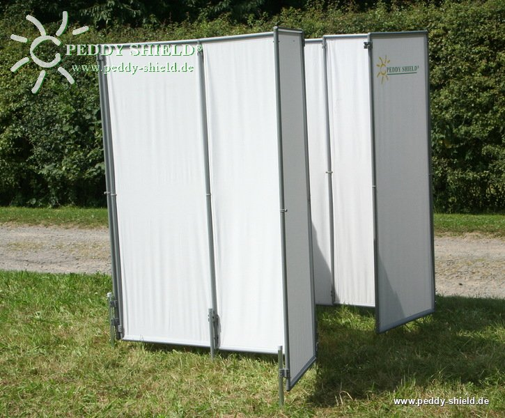 Privacidad en el jard n con biombos - Biombos para jardin ...