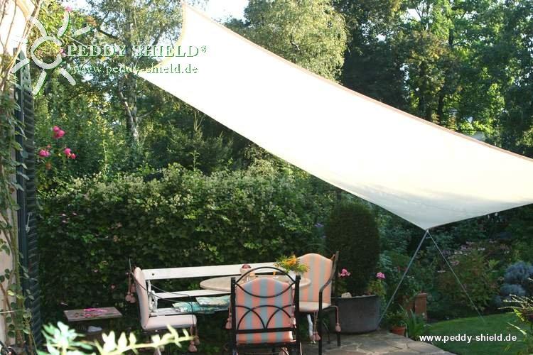 toldo vela rectangular 3 x 4 m color marfil claro - Toldo Vela Rectangular
